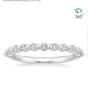 Marseille Platinum Diamond Ring (1/3ct. tw.)